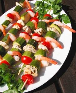 zucchini-spiedini