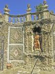 Gamberaia-dettaglio-murature-e-statue-del cabinet di roccaglia