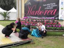 Harborea-2013-la-foto-degli-sposi tra i fiori