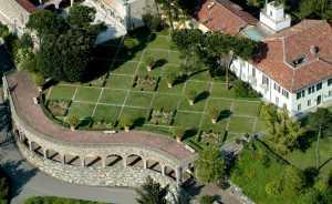 giardino di villa Ottolenghi